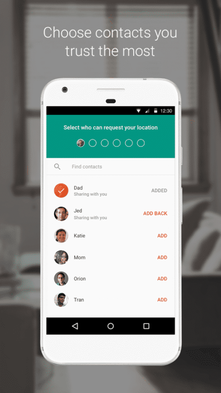 trusted contacts 2