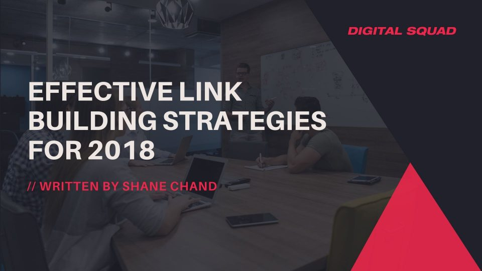 Effective Link Building Strategies