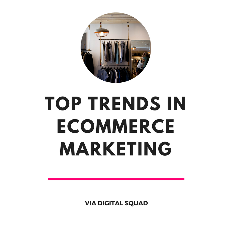 Top Trends in Ecommerce Marketing