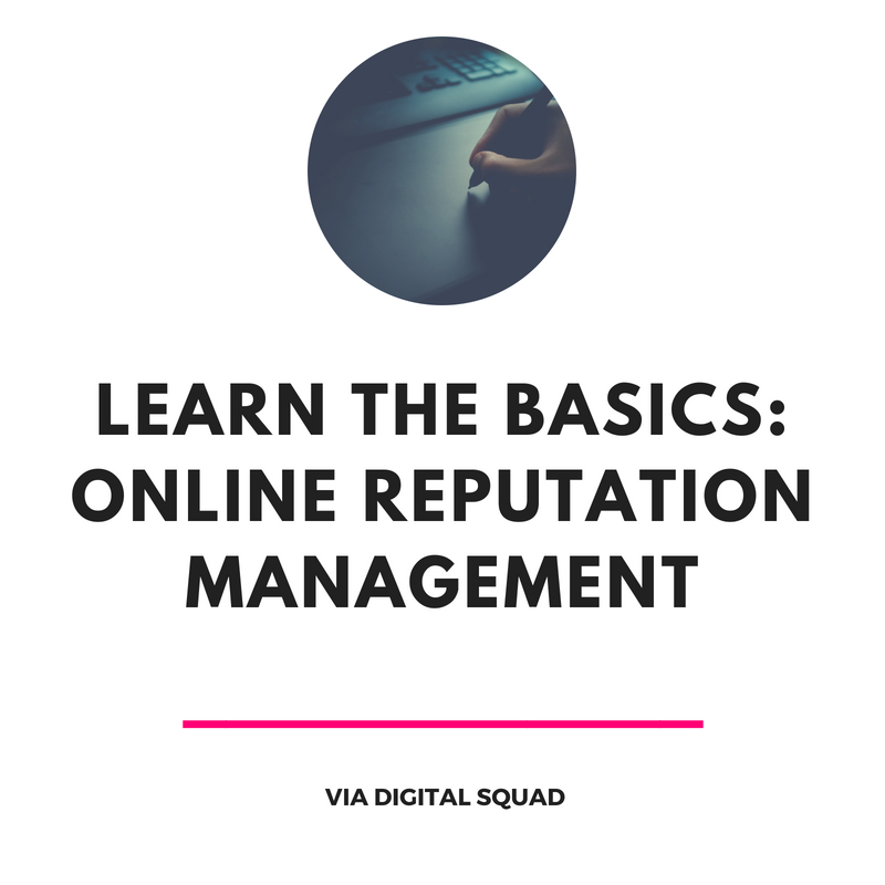 reputation management basics