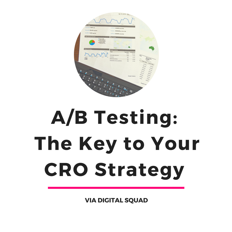 A/B Testing: The Key to Your CRO Strategy | Digital Squad