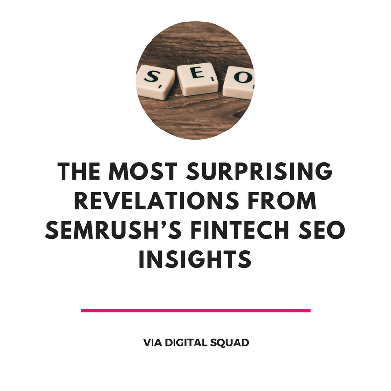 fintech seo insights