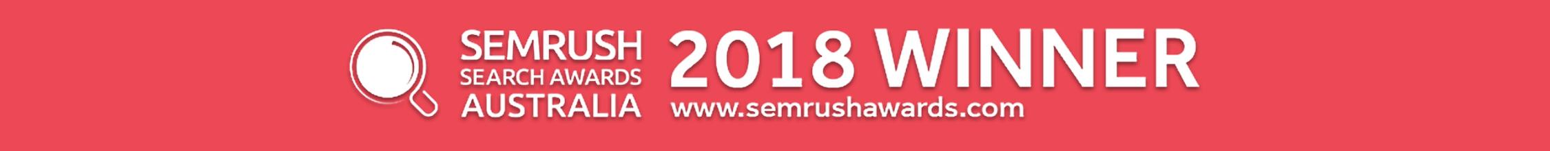Winner Semrush Awards 2018