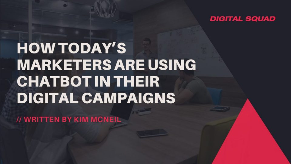 chatbots in digital marketing campaigns