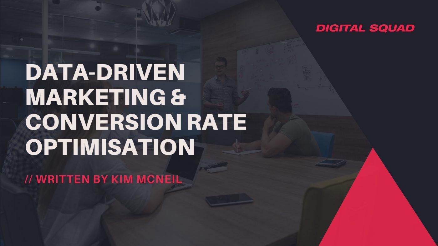 data driven conversion optimisation