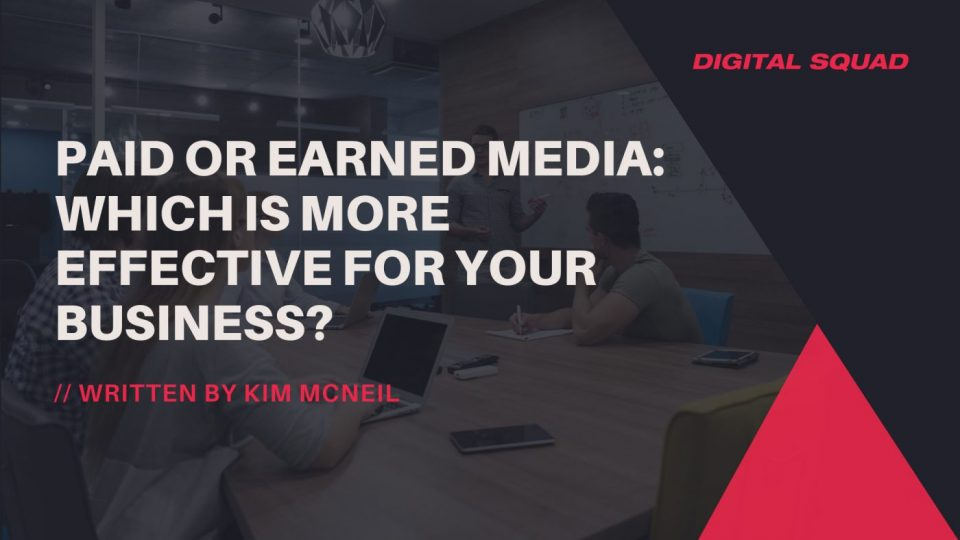 paid or earned media