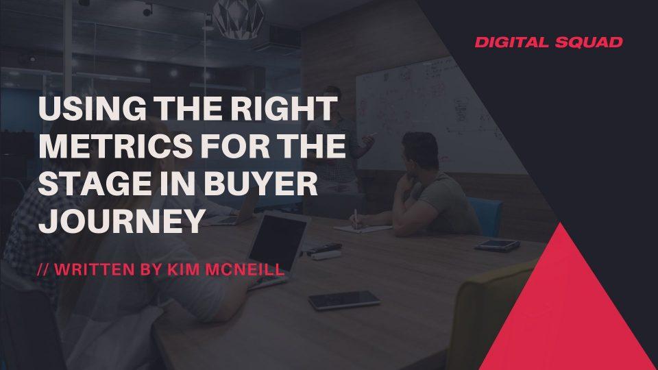 metrics for customer journey