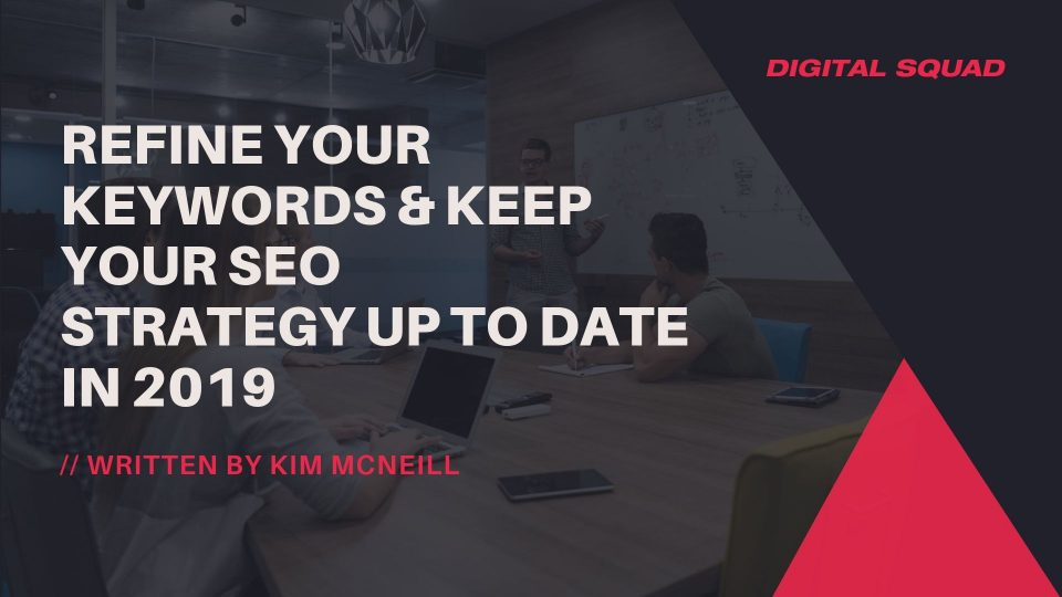 keyword strategy 2019