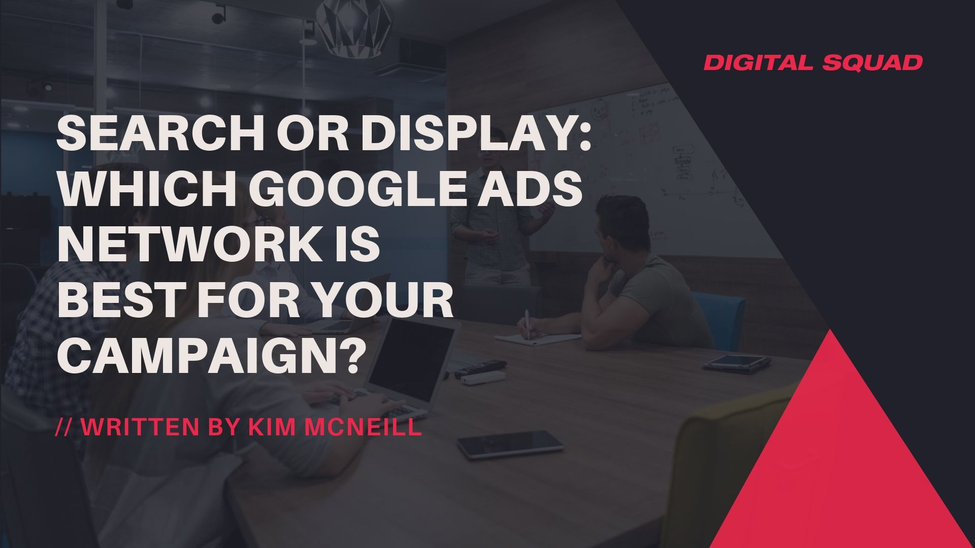 search or display ads