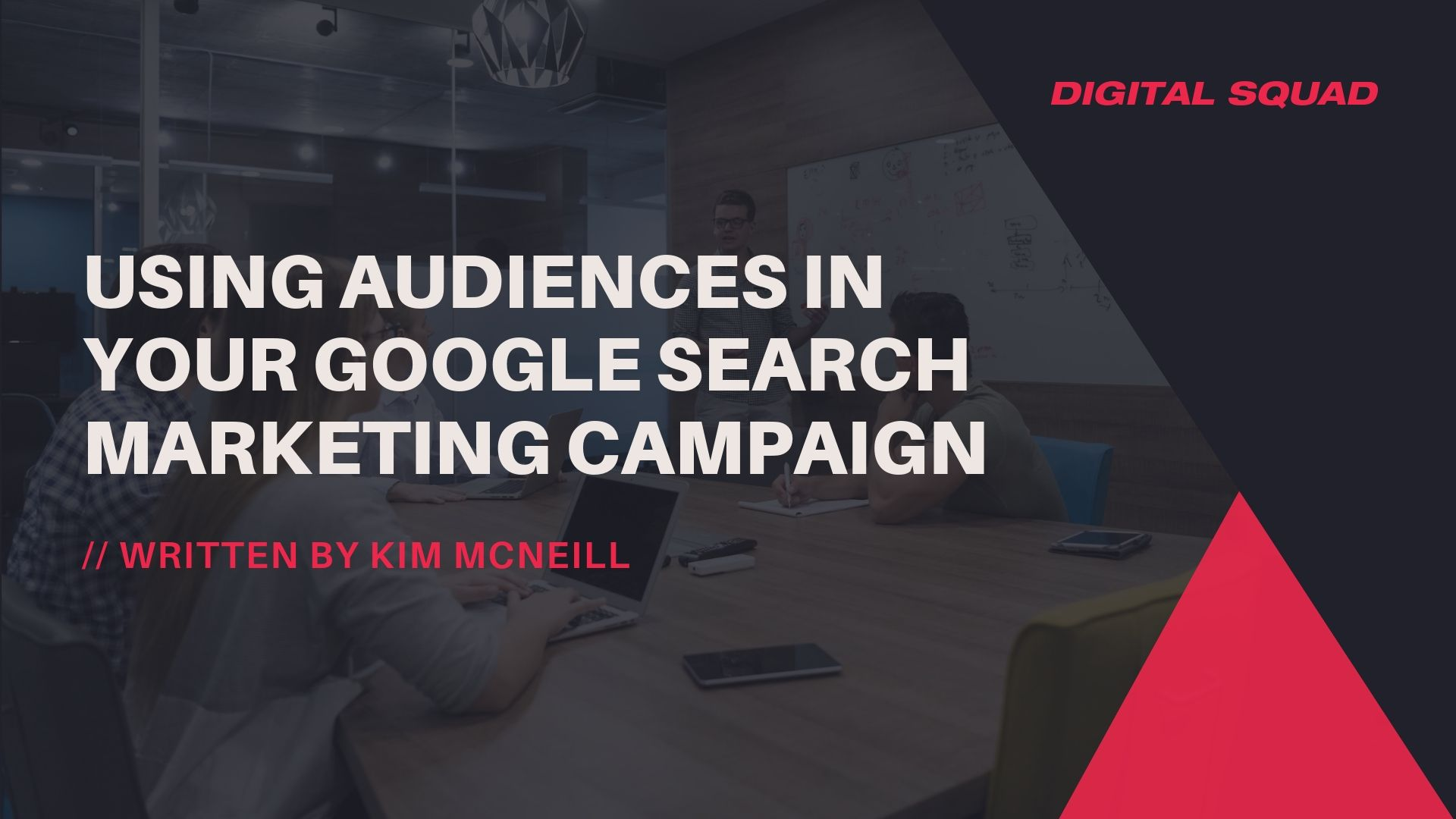 audiences in google campaign