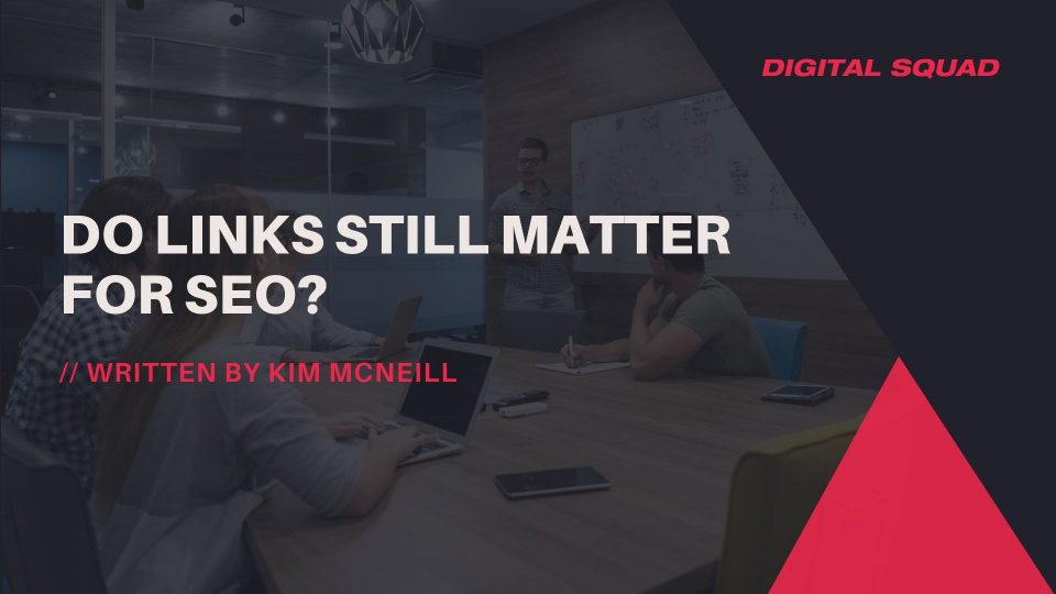 do links still matter for seo